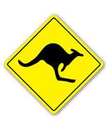KANGAROO CROSSING Sign xing signs kid Australia... - $8.44