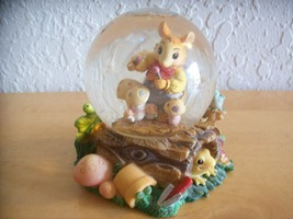 "1999 Mouse in the House ""Garden Concert"" Snow g... - $18.00"