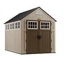 Suncast 7' x 10' Alpine Shed,Outdoor Storage Shed,Garden Shed.Tool Shed, New
