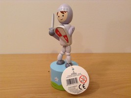 Wooden Wobblers Puppet Knight House of Marbles Traditional Toys and Games image 2