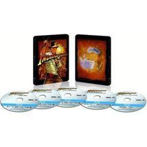 Indiana Jones: The Complete Adventures [Blu-ray Steelbook]