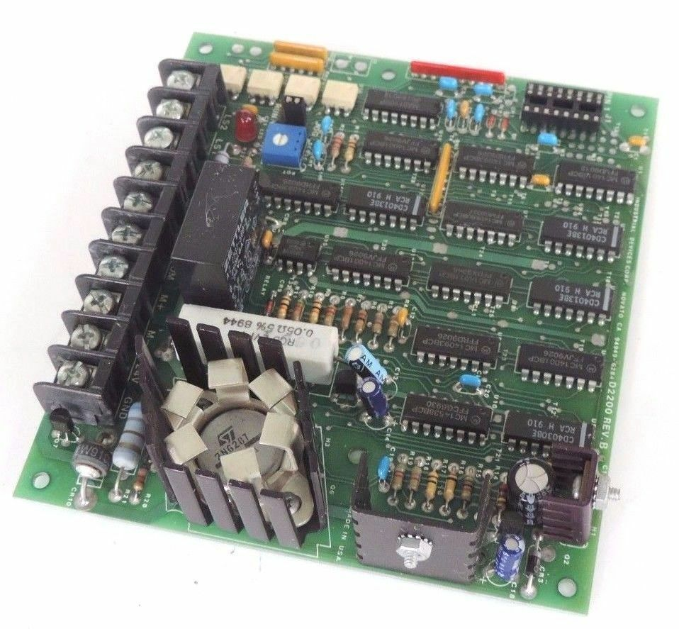 INDUSTRIAL DEVICES CORP. D2200 REV. B CONTROL BOARD
