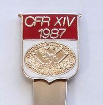 Collector Souvenir Spoon Canada Alberta Edmonton CFR XIV '87 Northlands Coliseum - $4.99