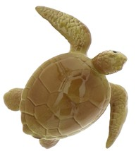 Hagen-Renaker Miniature Ceramic Turtle Figurine Sea Tortoise Swimming image 5