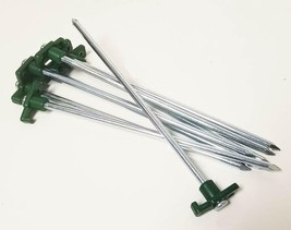 Voyager Tools Groundhog Tent Stakes (8 Pack) Heavy Duty Camping and Gard... - $24.18