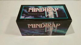MINDTRAP 1991 Game Challenge Your Brain! Board game for the mind. Vintage - $12.86