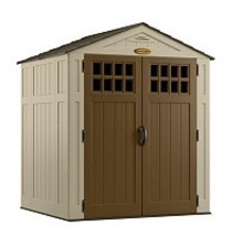 Suncast 6' x 5' Shed,Outdoor Storage Shed,Wood Shed.Tool Shed, New - $949.99