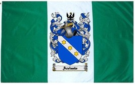 Arciuolo Coat of Arms Flag / Family Crest Flag - $29.99