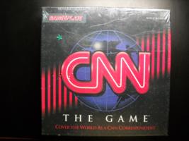CNN The Game 1994 Gamesplan Cover the World as a CNN Correspondent Seale... - $13.99