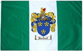 Bardoulf Coat of Arms Flag / Family Crest Flag - $29.99