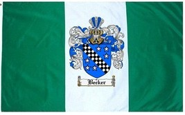 Becker Coat of Arms Flag / Family Crest Flag - $29.99