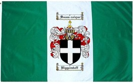 Biggerstaff Coat of Arms Flag / Family Crest Flag - $29.99