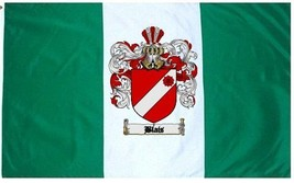 Blais Coat of Arms Flag / Family Crest Flag - $29.99