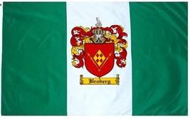 Broberg Coat of Arms Flag / Family Crest Flag - $29.99
