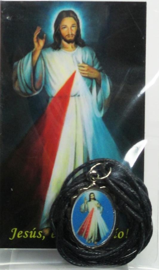 Medalla honda de la divina misericordia 03833