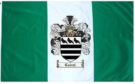 Carrel Coat of Arms Flag / Family Crest Flag - $29.99