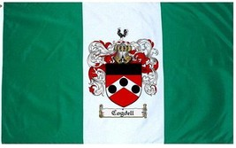 Cogdell Coat of Arms Flag / Family Crest Flag - $29.99