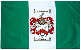 Dunkin Coat of Arms Flag / Family Crest Flag - $29.99