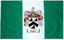 Egard Coat of Arms Flag / Family Crest Flag - $29.99
