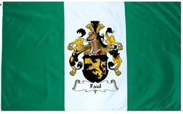 Faul Coat of Arms Flag / Family Crest Flag - $29.99