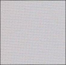 Light Ash Grey 20ct Aida 36x21 cross stitch fabric Zweigart - $16.65