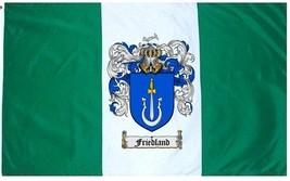Friedland Coat of Arms Flag / Family Crest Flag - $29.99