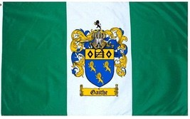 Gaithe Coat of Arms Flag / Family Crest Flag - $29.99