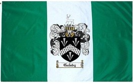 Gatsby Coat of Arms Flag / Family Crest Flag - $29.99