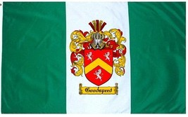 Goodspeed Coat of Arms Flag / Family Crest Flag - $29.99