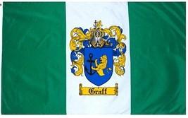 Graff Coat of Arms Flag / Family Crest Flag - $29.99