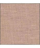 32ct Irish Creme hand-dyed Belfast linen 36x27 cross stitch fabric R&R - $47.70