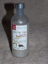 Essence of Purity White Tea VANILLA BLACKBERRY Relaxing Bubble Bath 5.9 ... - $9.89