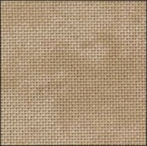25ct Vintage Country Mocha Lugana evenweave 36x27 cross stitch fabric Zw... - $24.30