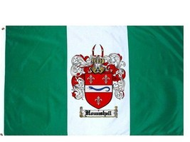 Hounshell Coat of Arms Flag / Family Crest Flag - $29.99