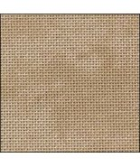25ct Vintage Country Mocha Lugana evenweave 18x27 cross stitch fabric Zw... - $12.15