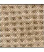 25ct Vintage Country Mocha Lugana evenweave 13x18 cross stitch fabric Zw... - $6.10