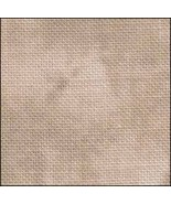 Antique Scroll HandDyed Effect 36ct Linen 35x39 cross stitch fabric Fabr... - $90.00