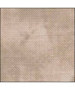 Antique Scroll HandDyed Effect 36ct Linen 17x19 cross stitch fabric Fabr... - $22.50