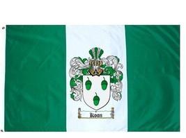 Koon Coat of Arms Flag / Family Crest Flag - $29.99