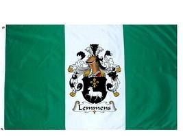 Lemmens Coat of Arms Flag / Family Crest Flag - $29.99