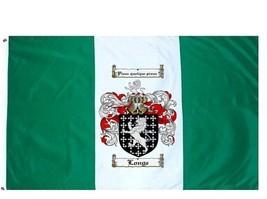 Longe Coat of Arms Flag / Family Crest Flag - $29.99