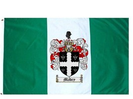 Mabry Coat of Arms Flag / Family Crest Flag - $29.99