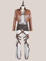 Attack on Titan Shingeki no Kyojin Eren Jaeger Cosplay Costume For Adult Kids - $120.00