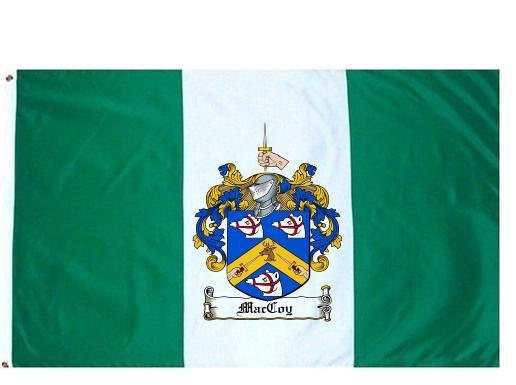 Maccoy Coat of Arms Flag / Family Crest Flag - $29.99