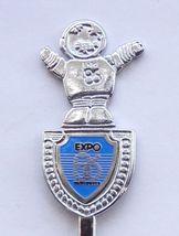 Collector Souvenir Spoon Canada BC Vancouver Expo 86 Mascot Expo Ernie F... - $9.99