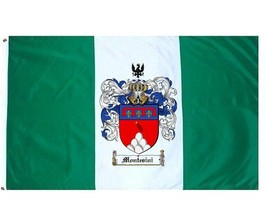 Montesini Coat of Arms Flag / Family Crest Flag - $29.99