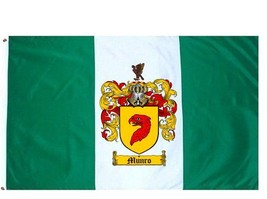 Munro Coat of Arms Flag / Family Crest Flag - $29.99