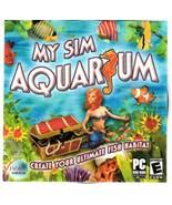 My Sim Aquarium (PC, 2006) PC Software - Create Your Ultimate Fish Habitat - $19.95