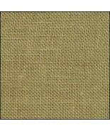 32ct Green Tea hand-dyed Belfast linen 36x27 cr... - $47.70