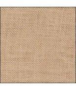 36ct Espresso hand-dyed Edinburgh linen 36x27 c... - $47.70